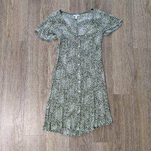 SISSTREVOLUTION Shining Down Babydoll Dress